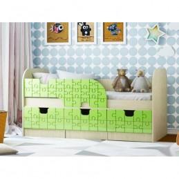 """Детская кровать """"Браво-1"""" зеленая"""