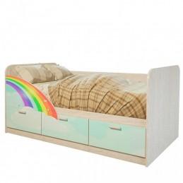 """Детская кровать """"Радуга"""""""