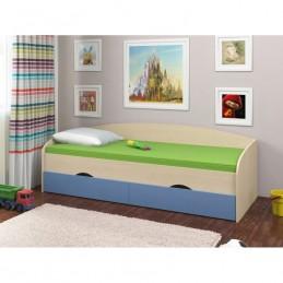 """Кровать """"Соня-2"""" Голубой"""