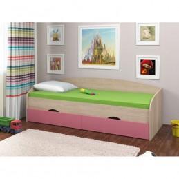 """Кровать """"Соня-2"""" розовый"""
