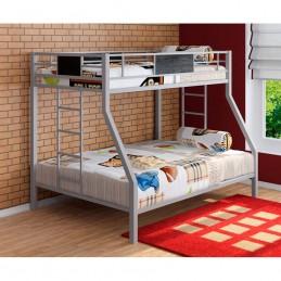 """Двухъярусная кровать """"Гранада"""" серый"""