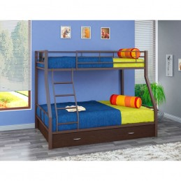 """Двухъярусная кровать """"Гранада-1 Я"""" коричневый"""