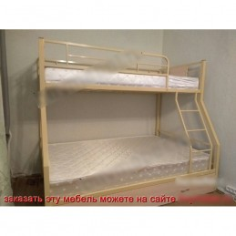 """Двухъярусная кровать """"Гранада-1 Я"""" черный"""