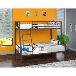 """Двухъярусная кровать """"Гранада-1"""" коричневый"""