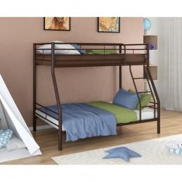 """Двухъярусная кровать """"Гранада-2"""" коричневый"""