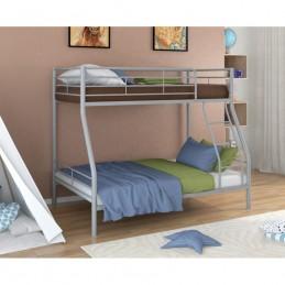"""Двухъярусная кровать """"Гранада-2"""" серый"""