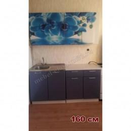 """Кухня """"Голубая орхидея"""""""