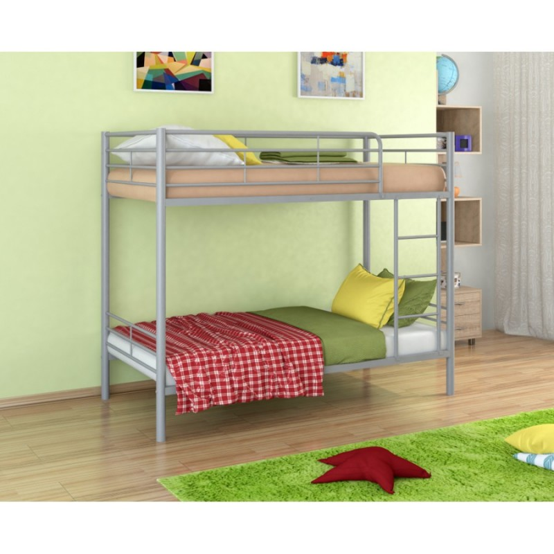 """Двухъярусная кровать """"Севилья 3"""" серый"""