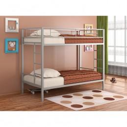 """Двухъярусная кровать """"Севилья"""" серый"""
