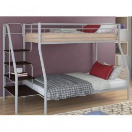 """Двухъярусная кровать """"Толедо 1"""" серый/Венге"""
