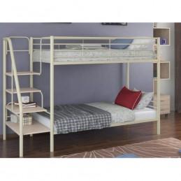 """Двухъярусная кровать """"Толедо"""" бежевый/Венге"""