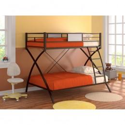 """Кровать-чердак """"Виньола"""" коричневый"""