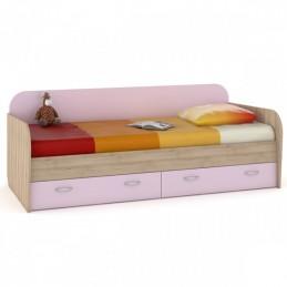 """Кровать 424 """"Ника"""" Лаванда"""