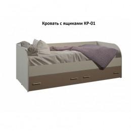 """Кровать с ящиками КР-01 """"Морис"""""""