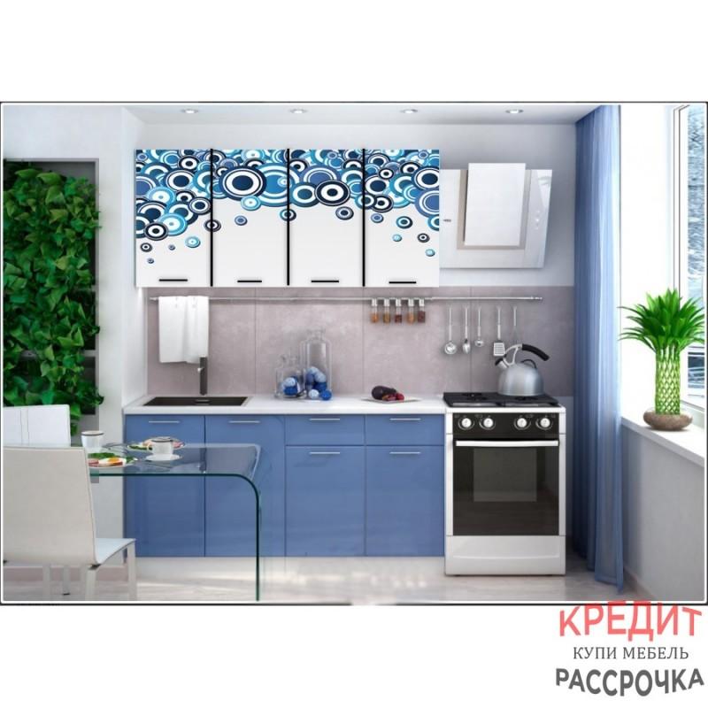 """Кухня """"Круги"""" 1,6 м"""