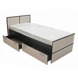 """Кровать """"Сакура"""" 0,9 м с матрасом"""
