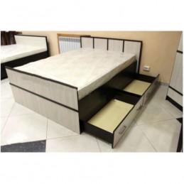 """Кровать """"Сакура"""" 1,6 м с матрасом"""