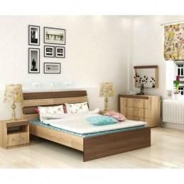 """Кровать """"Адель 1,6 м"""" с матрасом"""