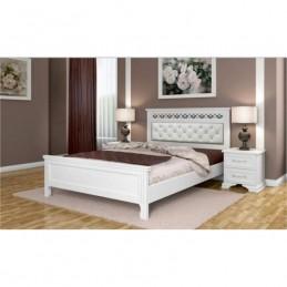 """Кровать """"Грация"""" античный белый 1,6 м"""