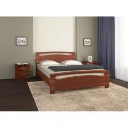 """Кровать """"Камелия-2"""" Вишня 1,6 м без матраса"""