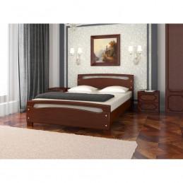 """Кровать """"Камелия-2"""" Орех 1,6 м без матраса"""