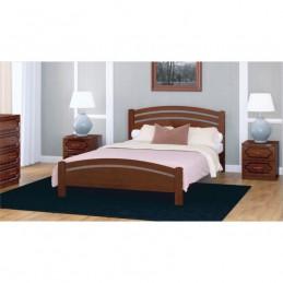 """Кровать """"Камелия-3"""" Орех 1,6 м без матраса"""