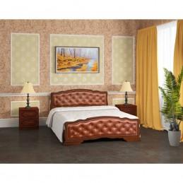 """Кровать """"Карина-10"""" 1,6 м Орех"""