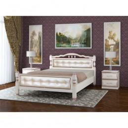 """Кровать """"Карина-11-молочный"""" 1,6 м"""