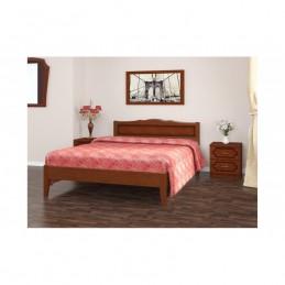 """Кровать """"Карина-7"""" 1,2 м деревянная"""