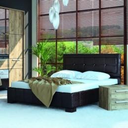 """Кровать """"Корвет МК52 / ИЗД.227 160"""" рептилия коричневая"""