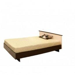 """Кровать """"КСП-120 венге"""" с матрасом"""