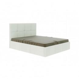 """Кровать """"Куба"""" белый 160 с ортопедическим основанием"""