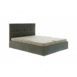"""Кровать """"Куба"""" коричневый 160 с ортопедическим основанием"""