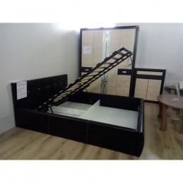 """Кровать """"Треви-2"""" с подъёмным механизмом, Коричневый"""