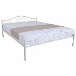 """Кровать двуспальная """"Элис люкс"""" беж 140*200 см без матраса"""