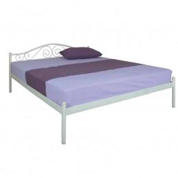 """Кровать двуспальная """"Элис"""" беж 160*200 см без матраса"""