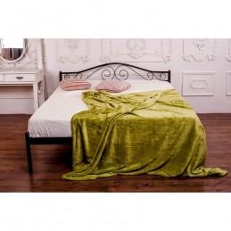 """Кровать двуспальная """"Элис"""" черный 160*200 см без матраса"""