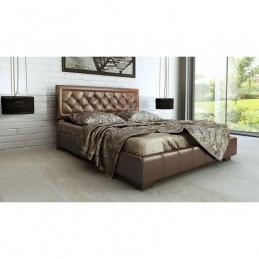 """Кровать с подъёмным механизмом """"МК-52 №246 бронза"""""""