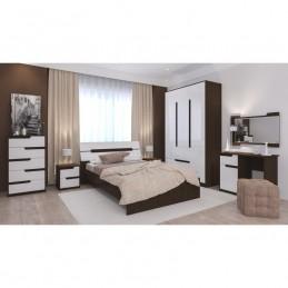 """Спальня """"Гавана"""" Композиция №2 Белый акрил"""