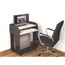 """Компьютерный стол """"Гретта-10"""" Венге"""