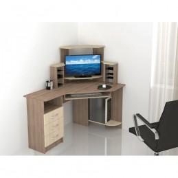 """Компьютерный стол """"Гретта-7"""" Ясень"""