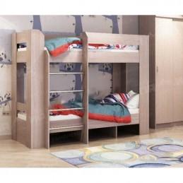 Детская двухъярусная кровать Ясень