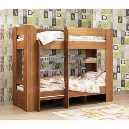 Детская двухъярусная кровать Ольха