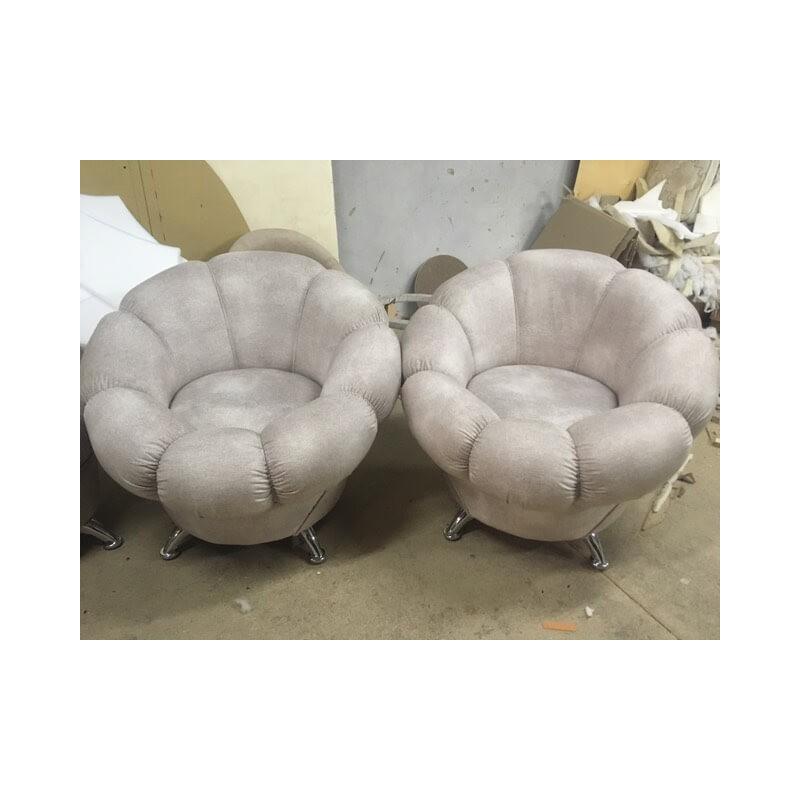 Кресло «Ромашка» бежевое