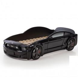 """Кровать-машина """"Мустанг"""" 3D черный"""