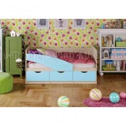 """Детская кровать """"Бабочка"""" 2*0,8 м, Голубой"""
