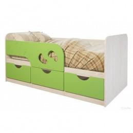 """Детская кровать """"Лего-лайм 163 см"""""""
