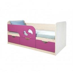 """Детская кровать """"Лего  фиолетовая 186 см"""""""