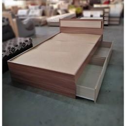 """Кровать """"Гармония"""" 1,2 м без матраса, ясень"""