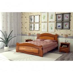 """Кровать """"Жизель"""", Орех 0,9 м"""